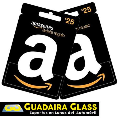 Regalo Tarjetas Amazon cambio Lunas Guadaira Glass