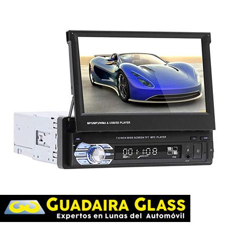 Regalo RadioCD con pantalla cambio Lunas Guadaira Glass